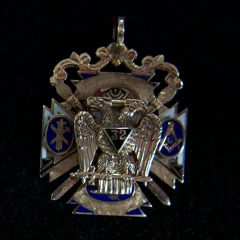 Scottish Rite Watch Fob