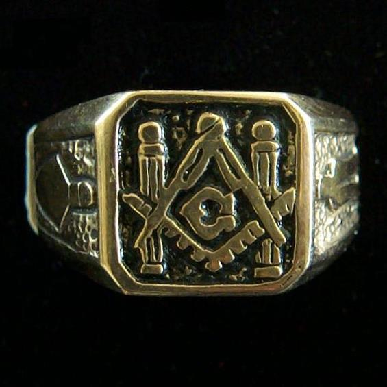 New Masonic Gold Ring
